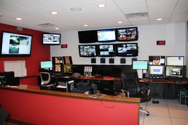 M-LFD Dispatch Center in 2013