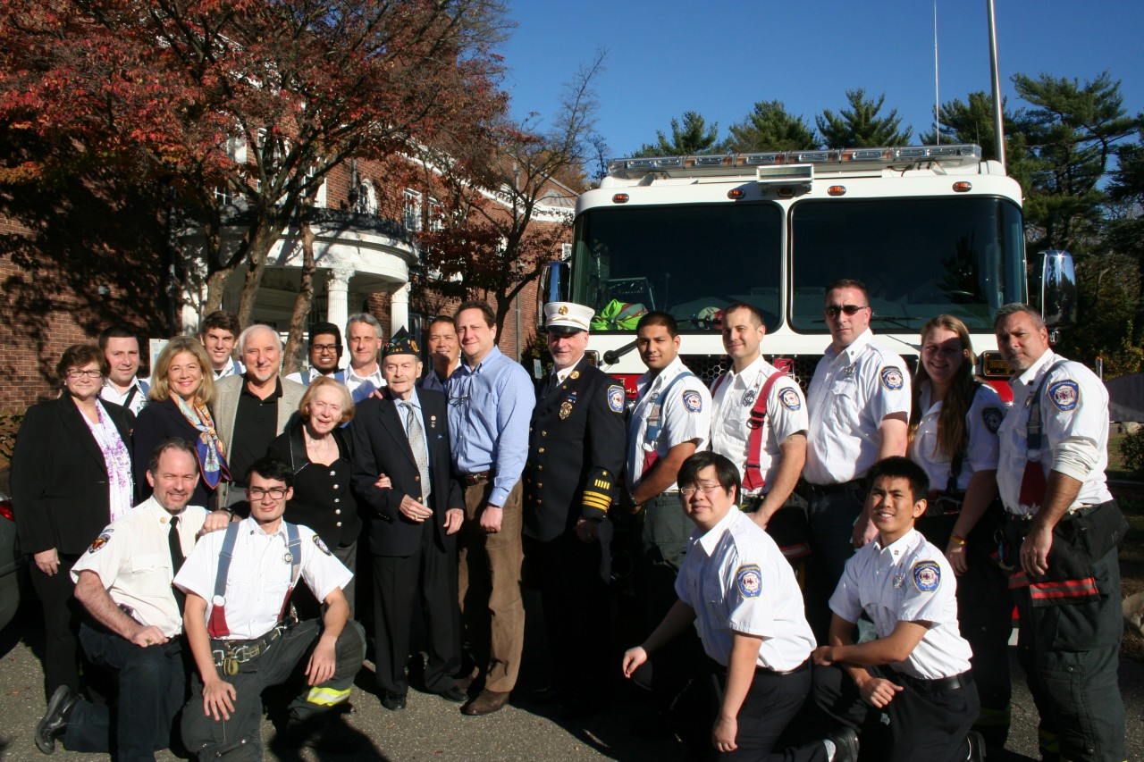 M-LFD Honors Holocaust Survivor